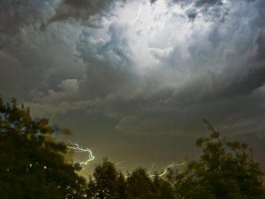 zomers onweer