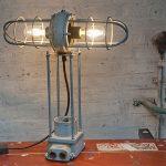Industriële lamp, Tapijn, model 2