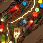 lichtinstallatie zwerfafval uit de Maas