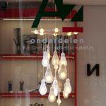 lichtkunst object 'Edison allicht'