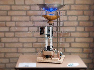 geautomatiseerde, autonome, kunstproductie machine