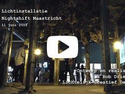lichtinstallatie 'Nightshift Maastricht' - 2016