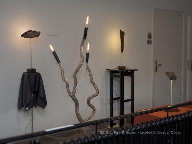 lichtsculpturen en lampen