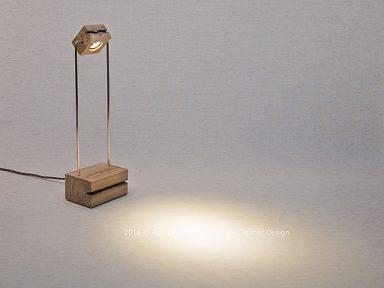 bureaulampje beukenhout